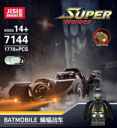 DECOOL 7144 The Ultimate Batmobile 1989 Technic MOC-15506 with 1741 pieces