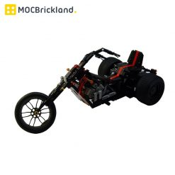 Custom Trike MOC 6385 Technician Designed By Muffinbrick With 634 Pieces
