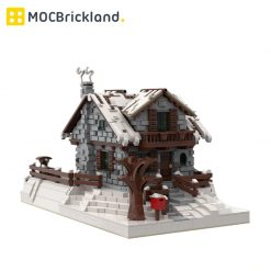 Winter Chalet MOC 38793 City Designed By FabrizioP With 4094 Pieces