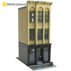 Cast Iron MOC 11389 Modular Building By Kristel Produced by MOC BRICK LAND