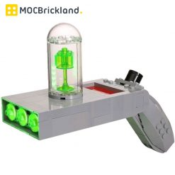 Rick And Morty Portal Gun MOC 19873 Movie Designed By Buildbetterbricks With 188 Pieces