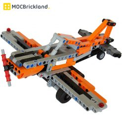 Germany Air Force Plane MOC 9557 Military Designed By Tomik With 251 Pieces