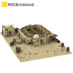 Mos Eisley Cantina MOC 10024 Star Wars Designed By IScreamClone With 3450 Pieces