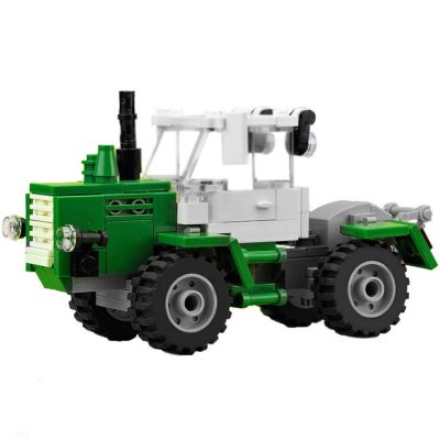 Green tractor MOC 15743 Technic Designed By De_Marco Produced By MOC BRICK LAND