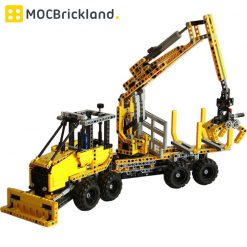 Forwarder MOC 4162 Technician Compatible With LEGO 8053 Designed By Tomik