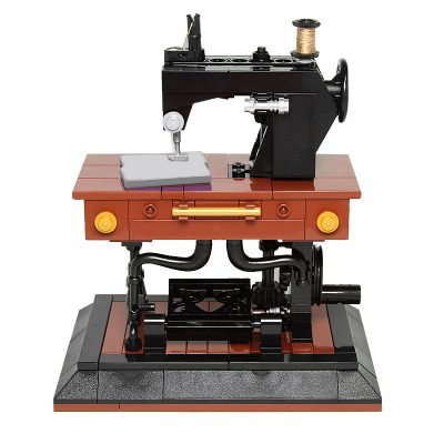 Antique Singer Sewing Machine MOC 41609 Creator Designed By Pixeljunkie With 244 Pieces
