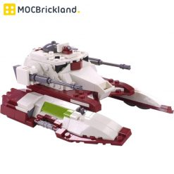 Republic Fighter Tank TX-130T Minifig Scale MOC 18145 Star Wars Designed By Brickvault