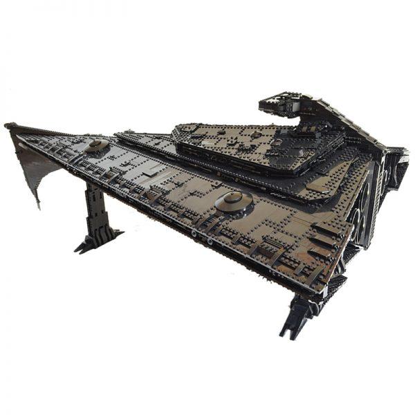 Eclipse Super Star Destroyer MOC 1001 Star Wars Designed Produced By MOC BRICK LAND