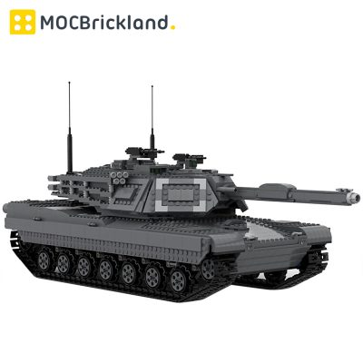 Ultimate Abrams with Bridge Layer AVLB MOC 29526 Military Designed By Zackhariahm With 3081 Pieces