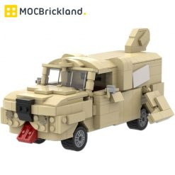 Dumber Mutt Cutts Dog Van MOC 20096 Technician Designed By Mkibs With 453 Pieces