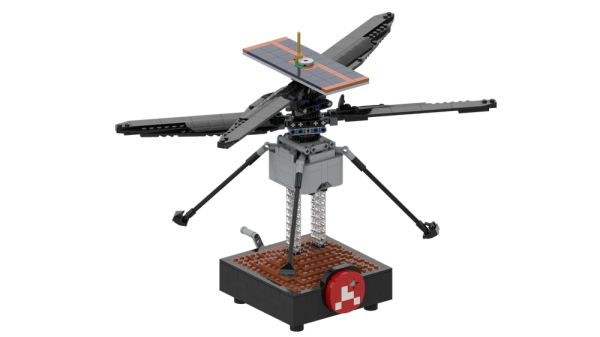 NASA Mars Helicopter Ingenuity Space MOC-51015 by Perijove with 729 Pieces