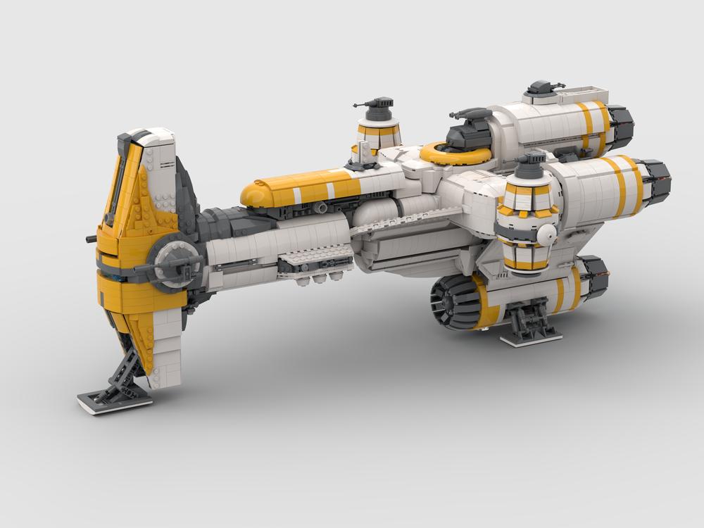 UCS Hammerhead Corvette Lightmaker MOC-57343 Star wars Designed By azanderk with 4900 Pieces