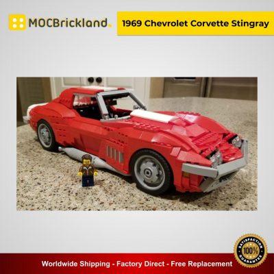 1969 Chevrolet Corvette Stingray MOC 13960 Technic Designed By Brickvault With 1500 Pieces