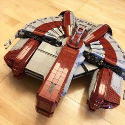 Ebon Hawk MOC 30979 Star Wars Designed By BrickBoyz Custom Designs With 6241 Pieces