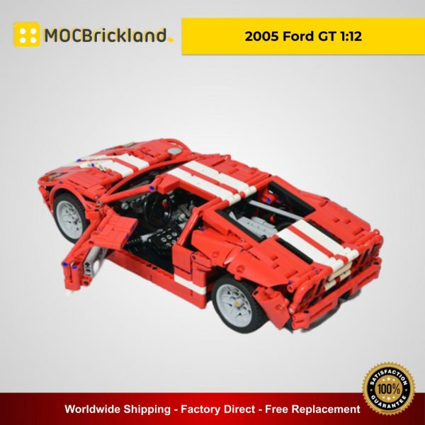 2005 Ford GT 1:12 MOC 11473 Technic Designed By Artemy Zotov With 1468 Pieces