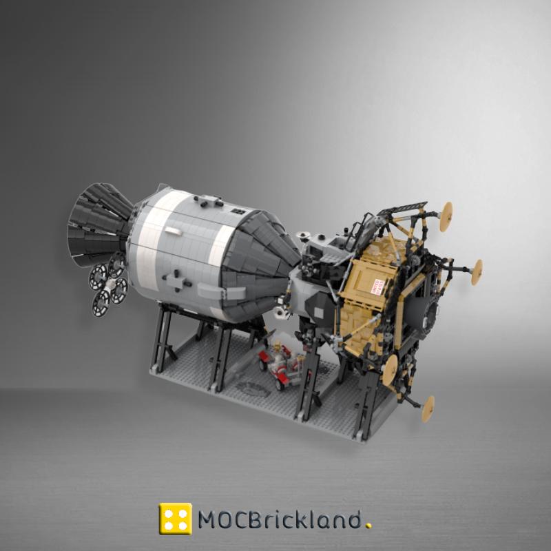 MOC 26457 NASA Apollo Spacecraft with 7090 Pieces
