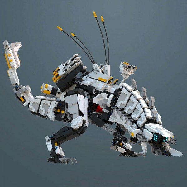 Thunderjaw Monster – Horizon Zero Dawn Technic MOC-15474 by Brickvault with 4743 Pieces
