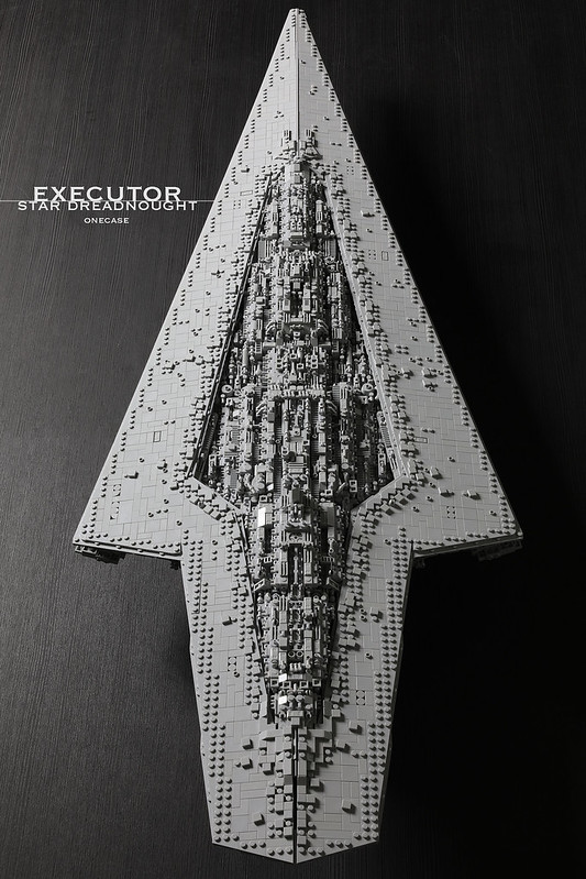 Executor class Star Dreadnought Star Wars MOC-15881 by onecase with 7284 Pieces