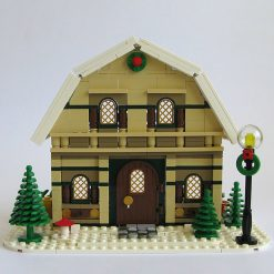 Winter Barn House MOC 10631 City Designed By Kristel With 746 Pieces