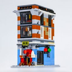 Mini Ghostbusters Firehouse GBHQ MOC 4543 Modular Building Designed By Timeremembered With 381 Pieces