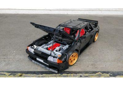 Nissan Skyline R32 GTR Technic MOC-62624 by Gray_Gear with 3536 Pieces