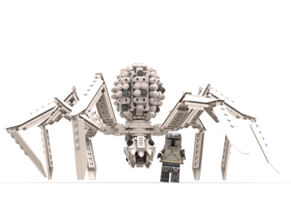 """Krykna – The ice spider from """"The Mandalorian"""" – Version 2 Star Wars MOC-56740 by thomin with 462 Pieces"""