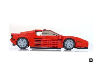 Ferrari Testarossa MOC-57875 Super Designed By _TLG_with 285 Pieces