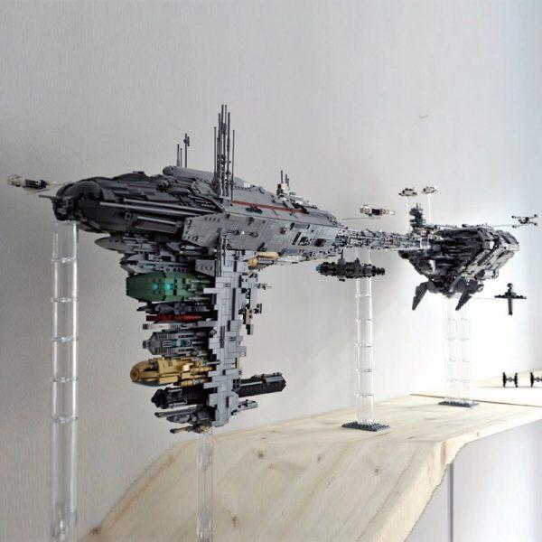 Mortesv's UCS Nebulon-B Medical Frigate Star Wars MOC-5083 WITH 5724PIECES