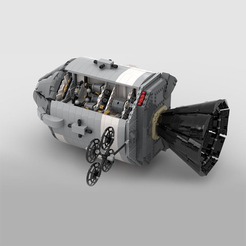 NASA Apollo Spacecraft Space MOC-26457 with 7094 Pieces
