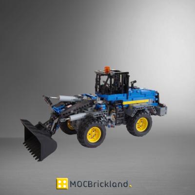 Front loader (RC) MOC 9551 Technic Designed Ivan_M Produced By MOC BRICK LAND