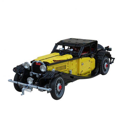 MOC 25153 Bugatti 50T with 3428 Pieces