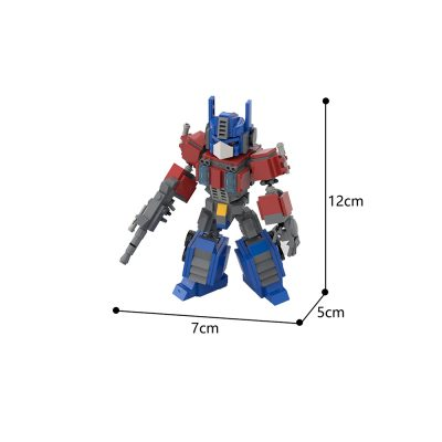 Optimus Prime Creator MOC-32332 by dkjodkjo WITH 409 PIECES