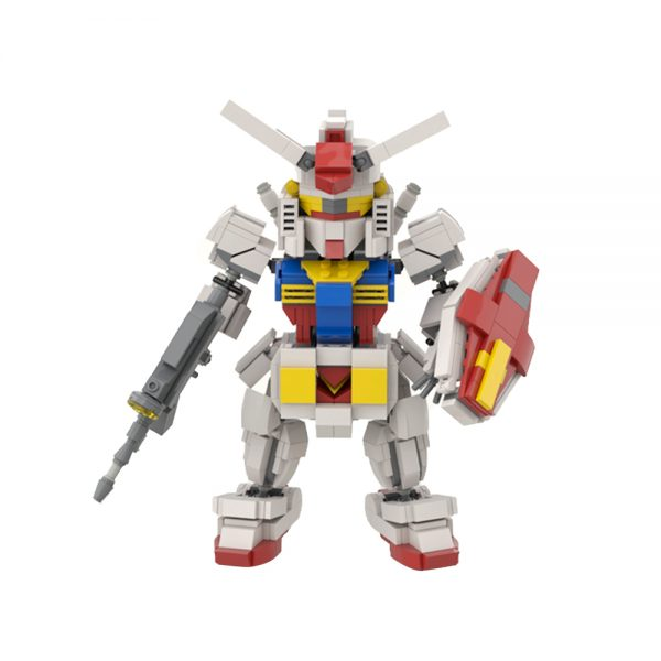 GUNDAM RX78 Mobile Suit Creator MOC-43683 by dkjodkjo WITH 814 PIECES