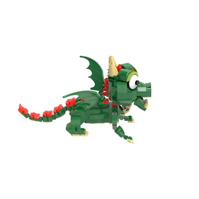 Baby Dragon Creator MOC-90181 WITH 433 PIECES