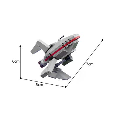 U.S.S. planet Express Space MOC-19480 by vcruz WITH 69 PIECES
