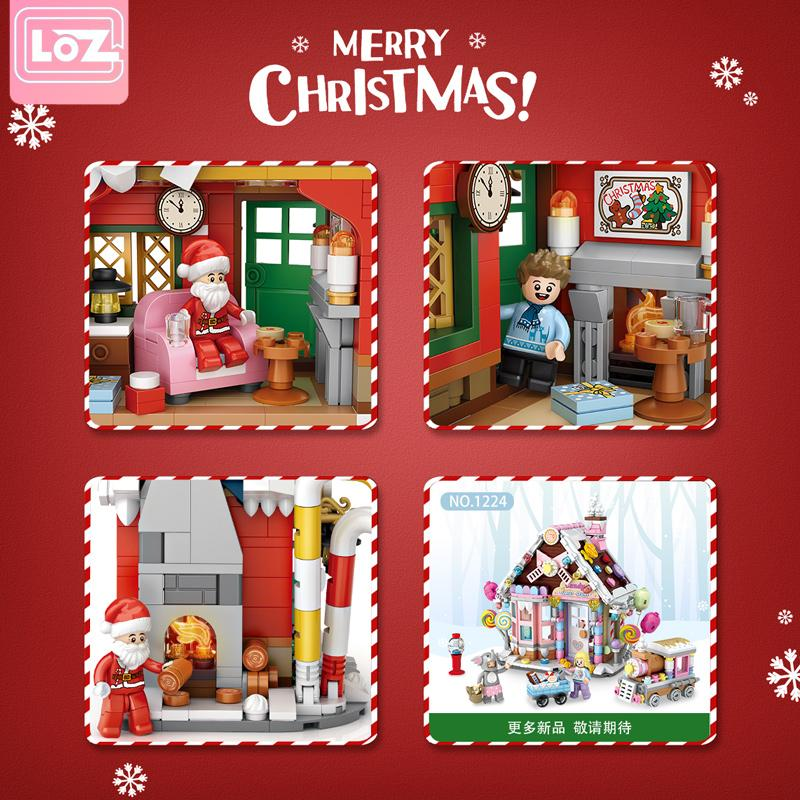 Christmas House CREATOR LOZ 1223 with 788 pieces