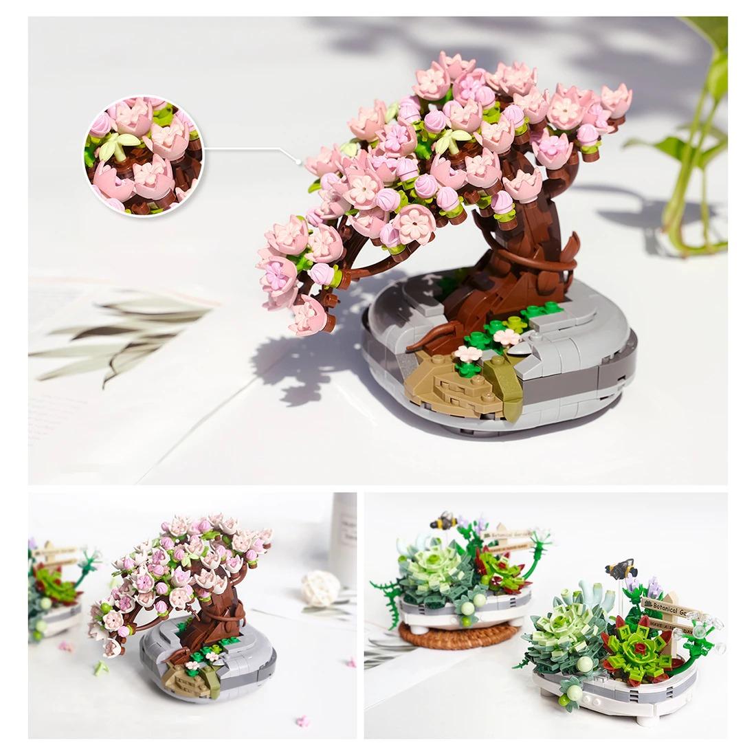 Eternal Flowers Garden Cherry Blossom CREATOR LOZ 1661 with 426 pieces