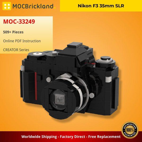 Nikon F3 35mm SLR CREATOR MOC-33249 WITH 667 PIECES