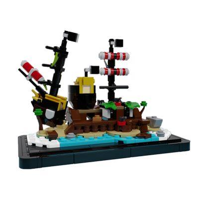 Micro Barracuda Bay CREATOR MOC-38553 by Veyniac WITH 368 PIECES