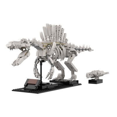 Spinosaurus Skeleton and Sea Turtle CREATOR MOC-47343 WITH 657 PIECES