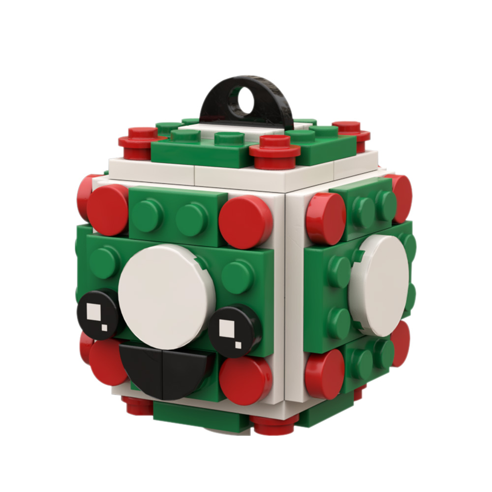 Classic Ball Ornament CREATOR MOC-58123 WITH 85 PIECES