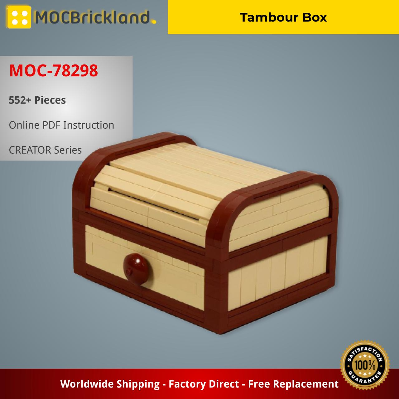 Tambour Box CREATOR MOC-78298 by JKBrickworks with 552 pieces
