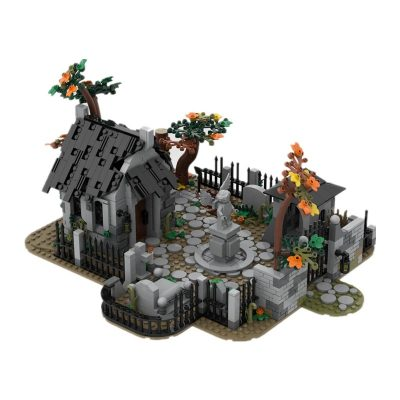 Graveyard CREATOR MOC-82593 by Peter.Keith with 1194 pieces