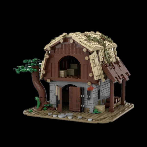 Barn CREATOR MOC-87196 by Peter.Keith with 708 pieces