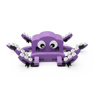 Octopus Phone Stand CREATOR MOC-89846 with 160 pieces