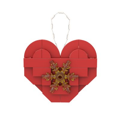 Christmas Love Ornament CREATOR MOC-89851 WITH 42 PIECES