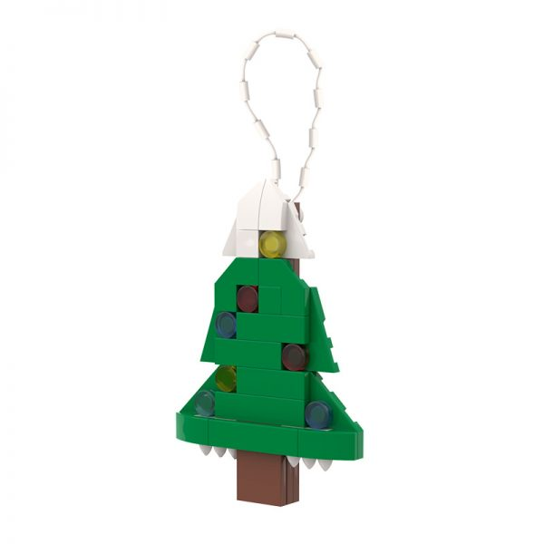 Christmas Tree Ornament CREATOR MOC-89854 WITH 35 PIECES