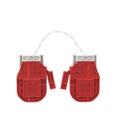 Christmas Gloves Ornament CREATOR MOC-89855 WITH 61 PIECES