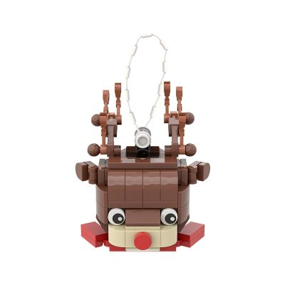 Christmas Reindeer Ornament CREATOR MOC-89856 WITH 97 PIECES