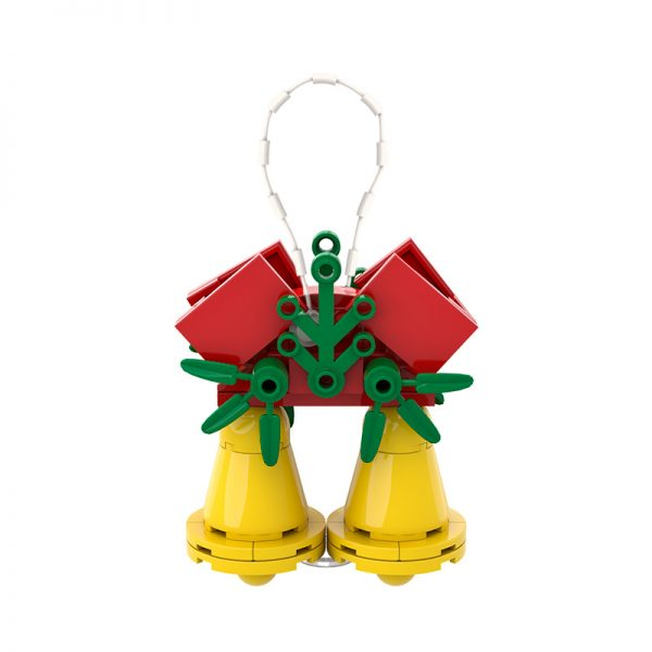 Christmas Jingle Bells Ornament CREATOR MOC-89857 WITH 53 PIECES